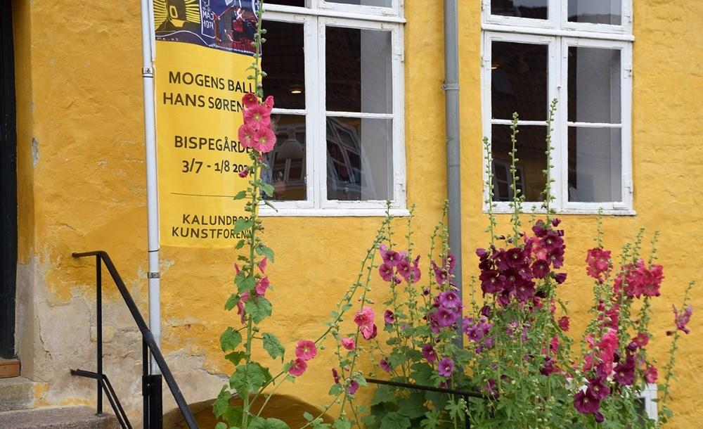 Lundbye Kunstfestival begyndte officielt lørdag middag. Foto: Gitte Korsgaard.