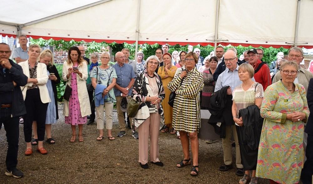 Grete Balle var med, da Lundbye Festivalen officielt blev erklæret for åben. Foto: Gitte Korsgaard.