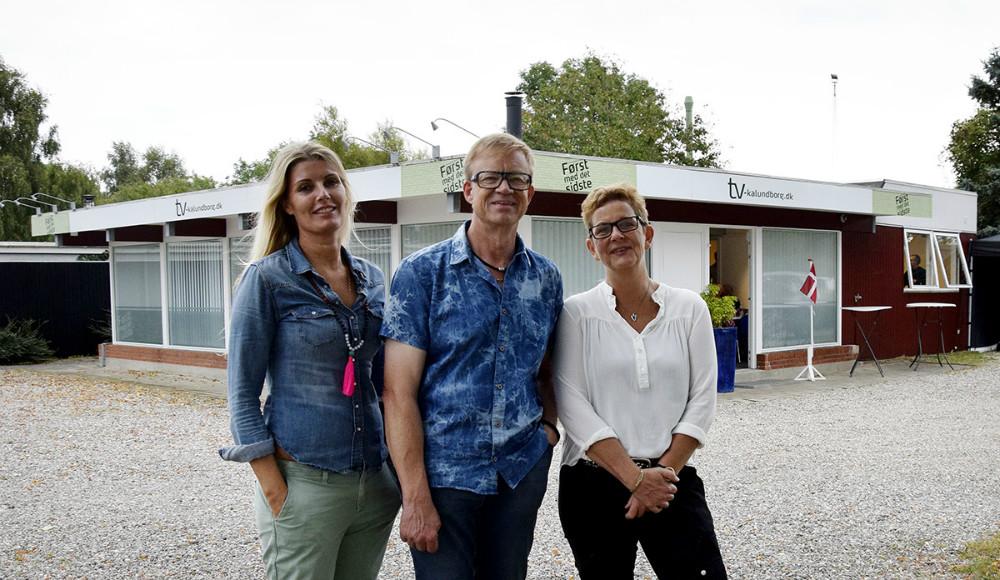 Holdet bag TV-Kalundborg.dk, fra venstre, Gitte Korsgaard Fenger, Jens NIelsen og Vibeke Gylling. Foto: Stine Rønnow