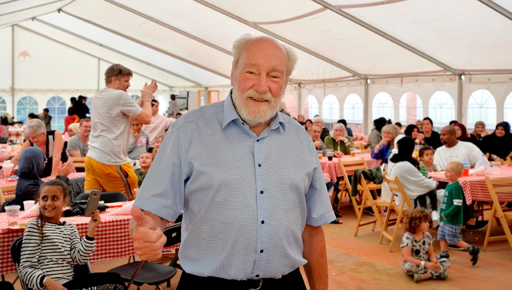 Richard Poulsen, formand for KAB. Foto: Jens Nielsen