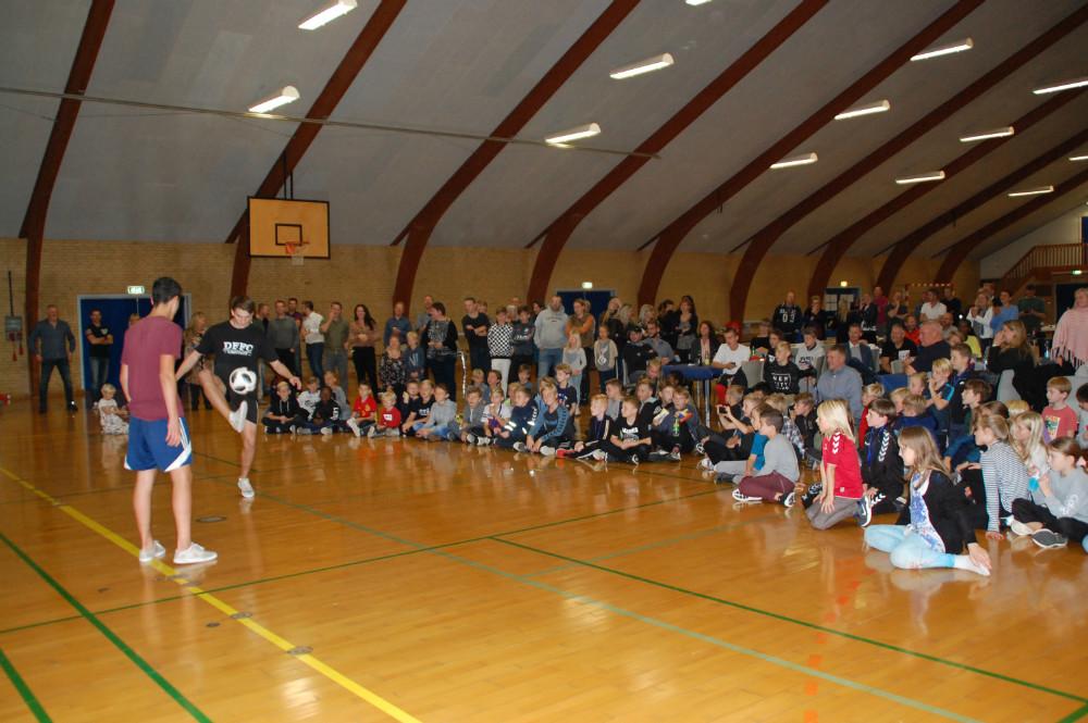 Fodboldafdelingen i Raklev Gymnastik og Idrætsforening har netop afholdtden store fodboldafslutning.