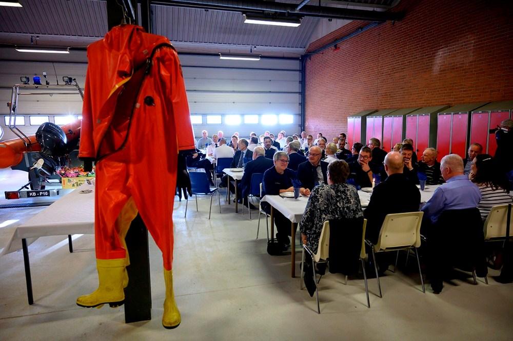 Nytårsparade på brandstationen i Kalundborg. Foto: Jens Nielsen
