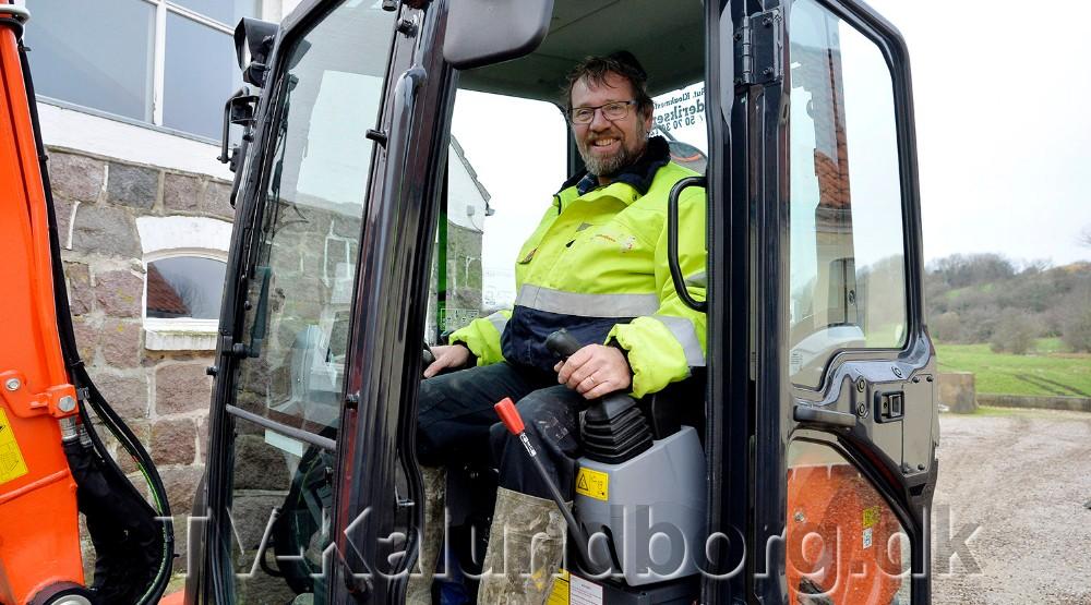 Entreprenør ErikFrederiksen ApS, Kalundborg, er i finalen som´Årets Håndværker 2019´ i kategorien Årets Kloakmester. Foto: Jens Nielsen