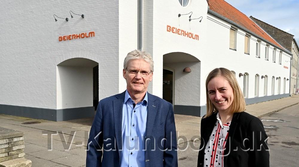 Anne Cathrine Nielsen og Steffen Møller Jensen står nui spidsen for BeierholmKalundborg. Foto: Jens Nielsen