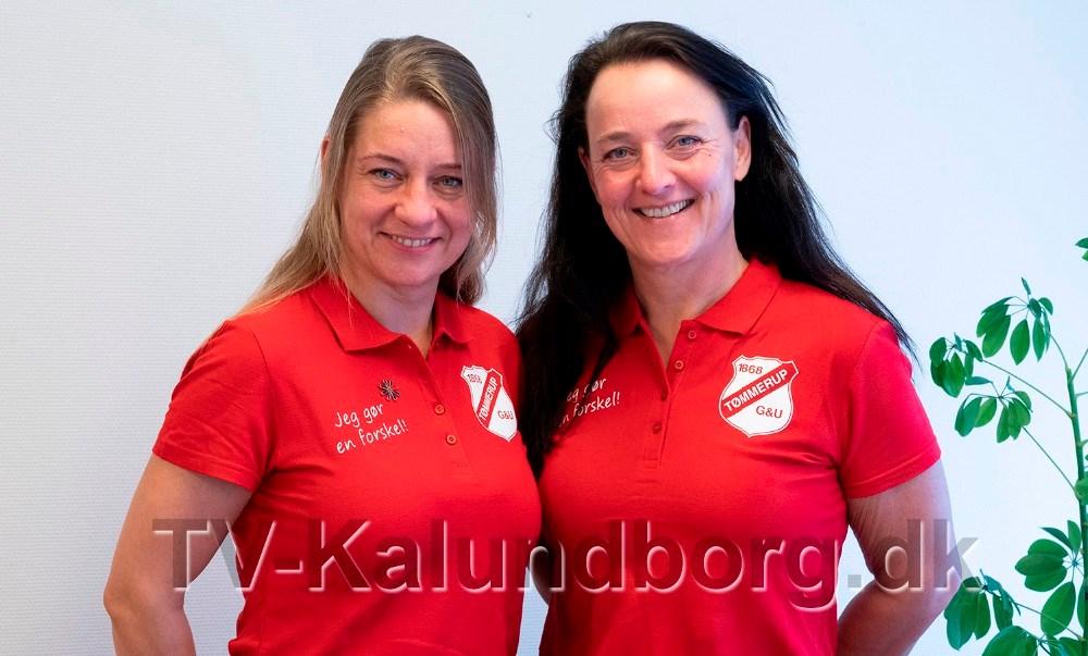 Anna Mortensen og Sussi Lodall fra Team TGU, arrangerer en stor event d. 18. april. Foto: Jens Nielsen