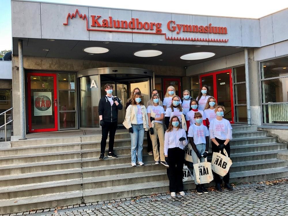 Som landets første gymnasium er Kalundborg Gymnasium nu blevet verdensmålscertificeret.