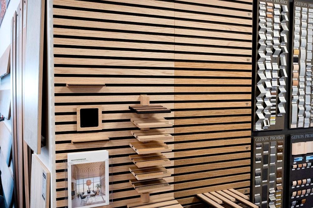 Salg og levering af panelvægge er helt nyt hos Garant i Kalundborg. Foto: Jens Nielsen