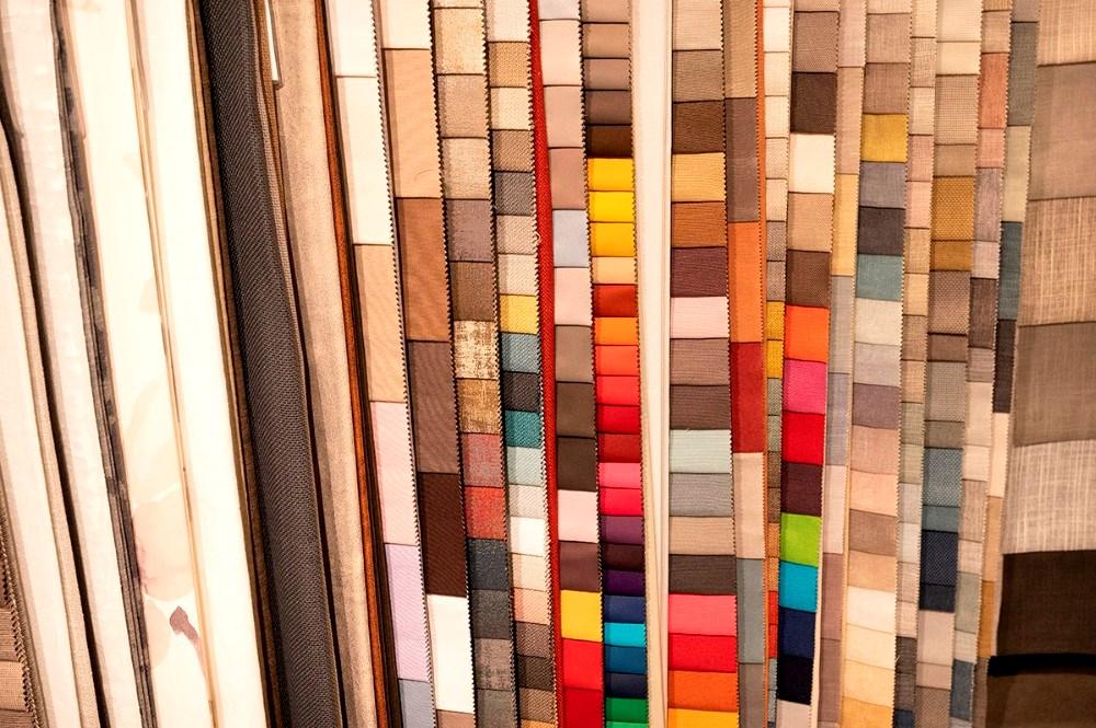 Der er mange forskellige gardinstoffer og vælge imellem. Foto: Jens Nielsen