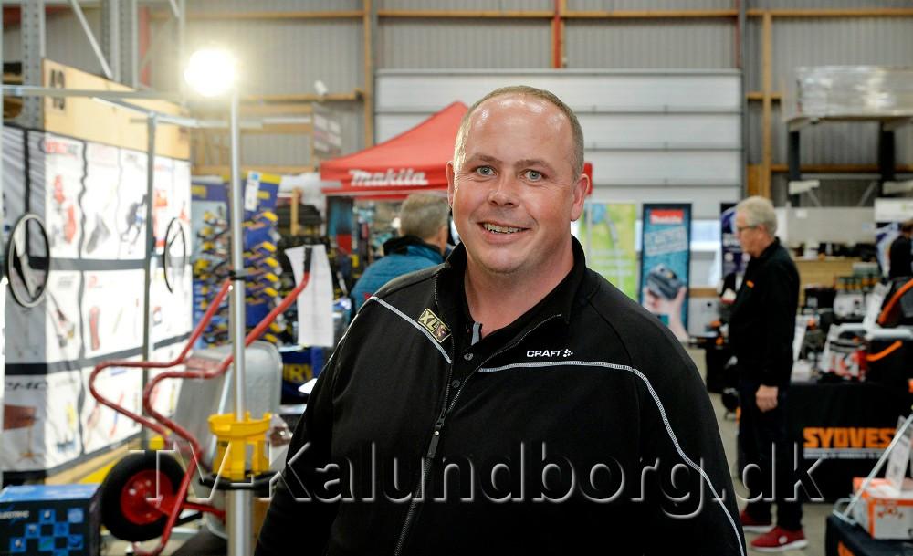 Jesper Sørensen, afdelingsleder hos XL Byg i Gørlev, inviterer, sammen med det øvrige personale og leverandører, til håndværkermesse. Arkivfoto: Jens Nielsen