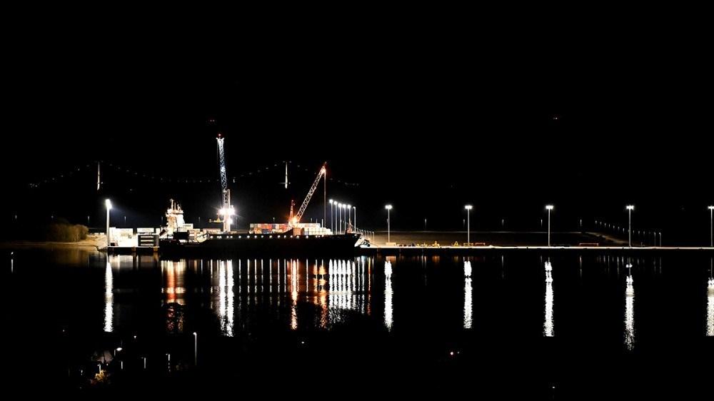 Ny Vesthavn lørdag aften. Foto: Jens Nielsen
