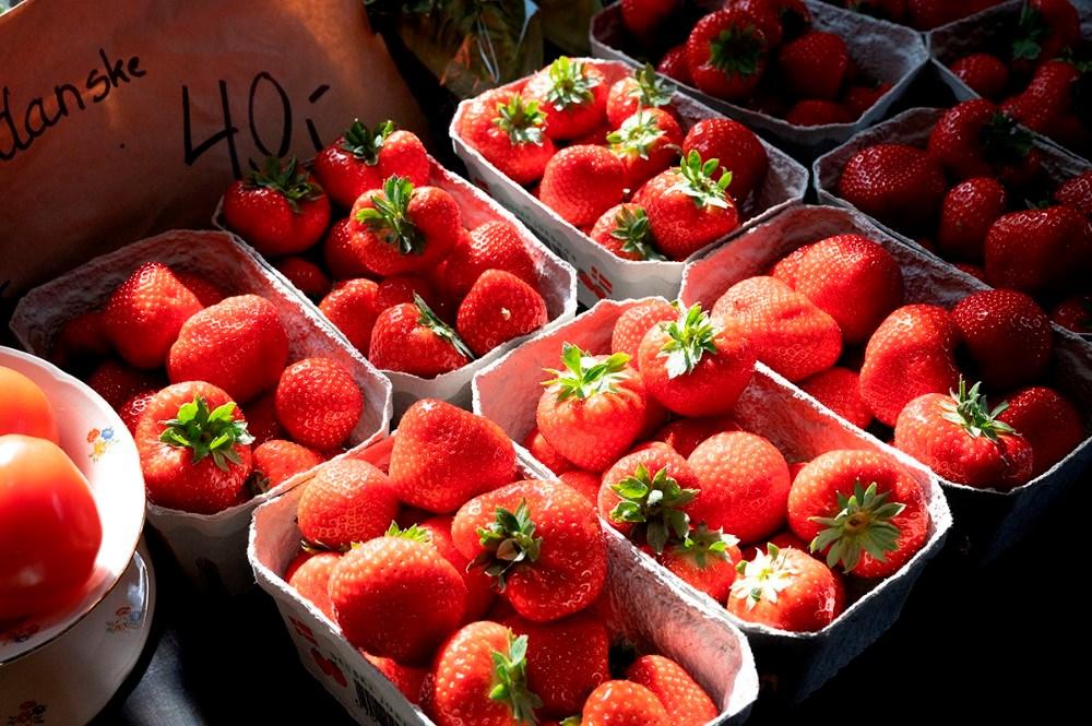 Kærby Gårdbutik har lige nu store friske danske jordbær. Foto: Jens Nielsen