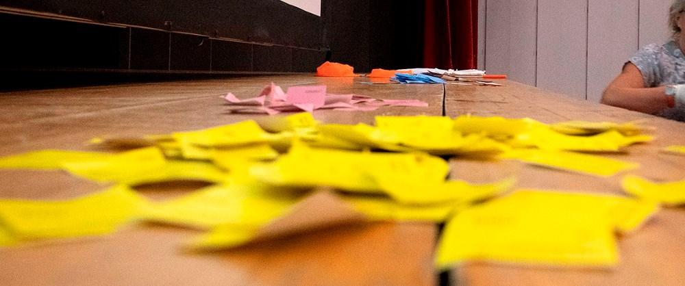 Der var flest ja-stemmer til de fire projekter. Foto: Jens Nielsen