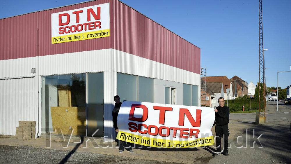 DTN Scooter flytter til Slagelsevej 28. Foto: Jens Nielsen