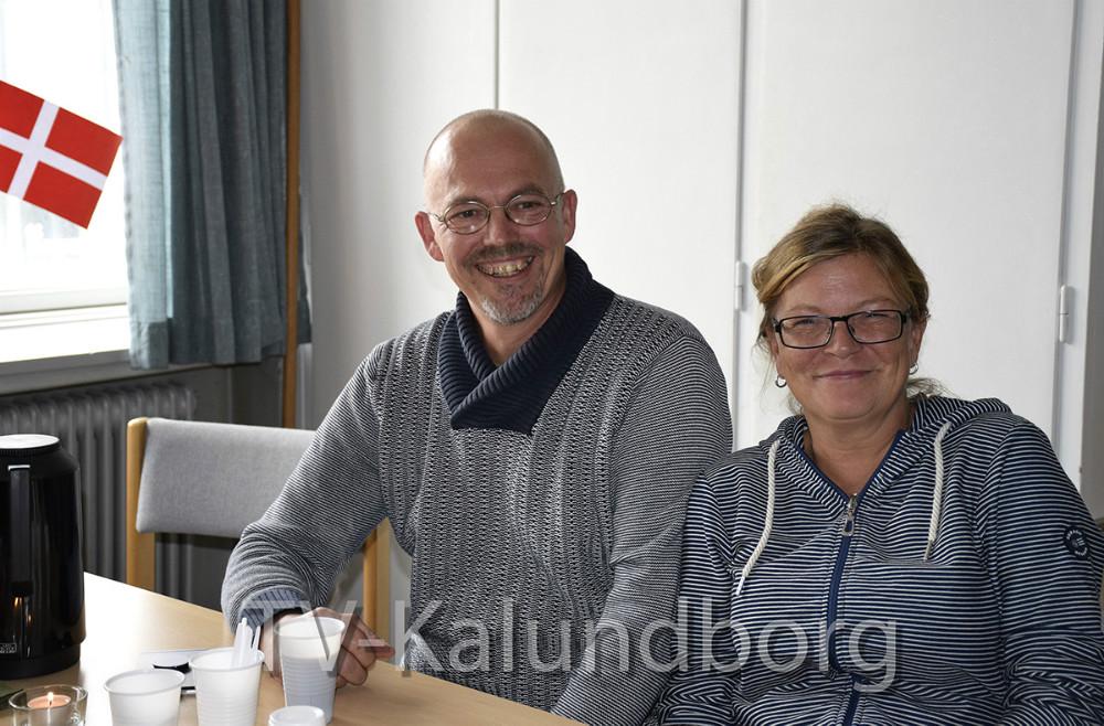 I dag var der åbning af Væksthuset Liljen i deres nye lokaler i Bredgade. Her formand for bestyrelsen, Michael Olsen og Tina Nielsen. Foto: Gitte Korsgaard.