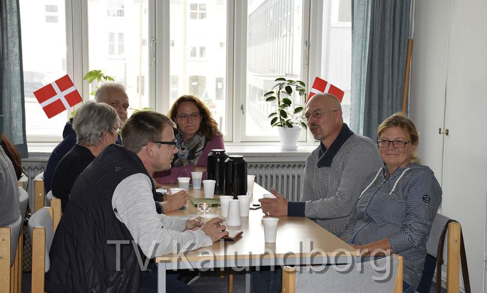 I dag fejrede man, at Væksthuset Liljen har fået deres eget sted. Foto: Gitte Korsgaard.