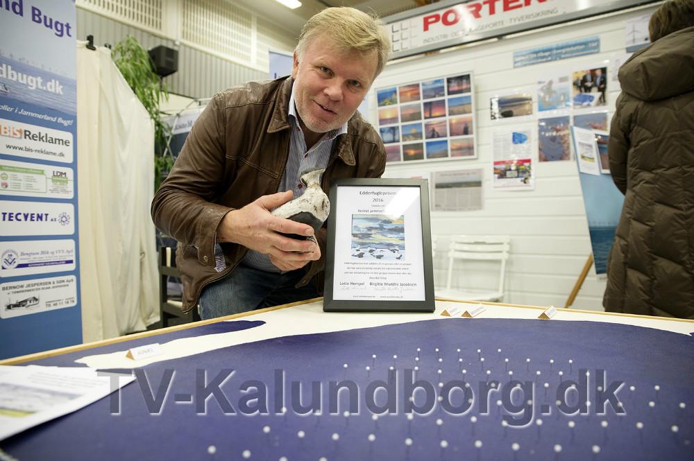 Foreningen 'Beskyt Jammerland Bugt' har netop modtaget Edderfugleprisen 2016. Foto: Jens Nielsen
