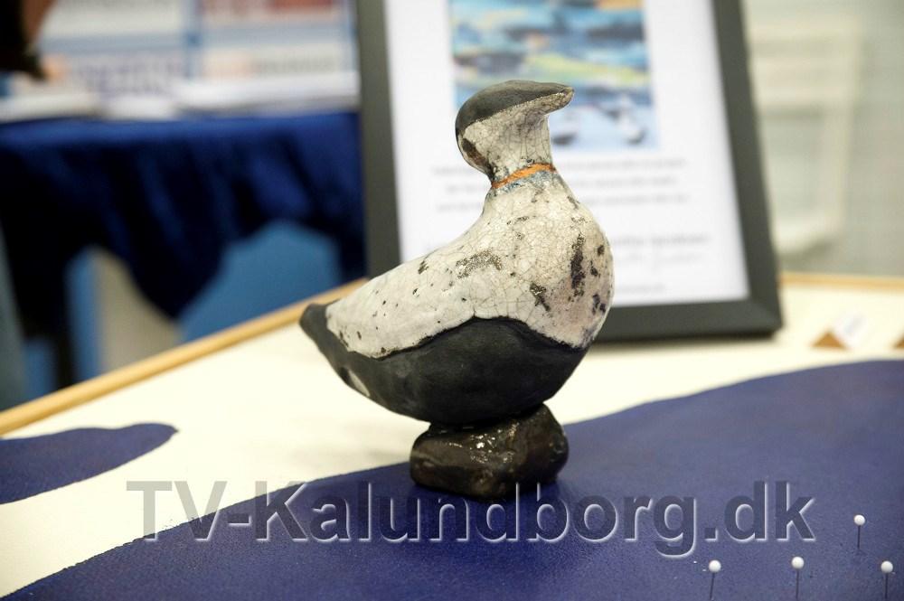 Foreningen 'Beskyt Jammerland Bugt' har modtaget Edderfugleprisen 2016. Foto: Jens Nielsen