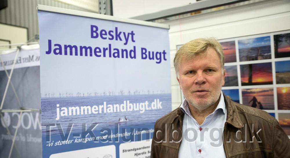 Jens Rønnemoes Pedersen, formand for ´Beskyt Jammerland Bugt´. Foto: Jens Nielsen