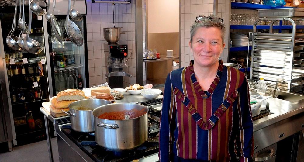Tina Thrysøe, indehaver af Fra Chili til Safran. Foto: Jens Nielsen