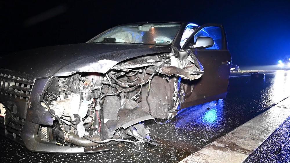 Der skete omfattende skader i forbindelse med uheldet. Foto: Jens Nielsen