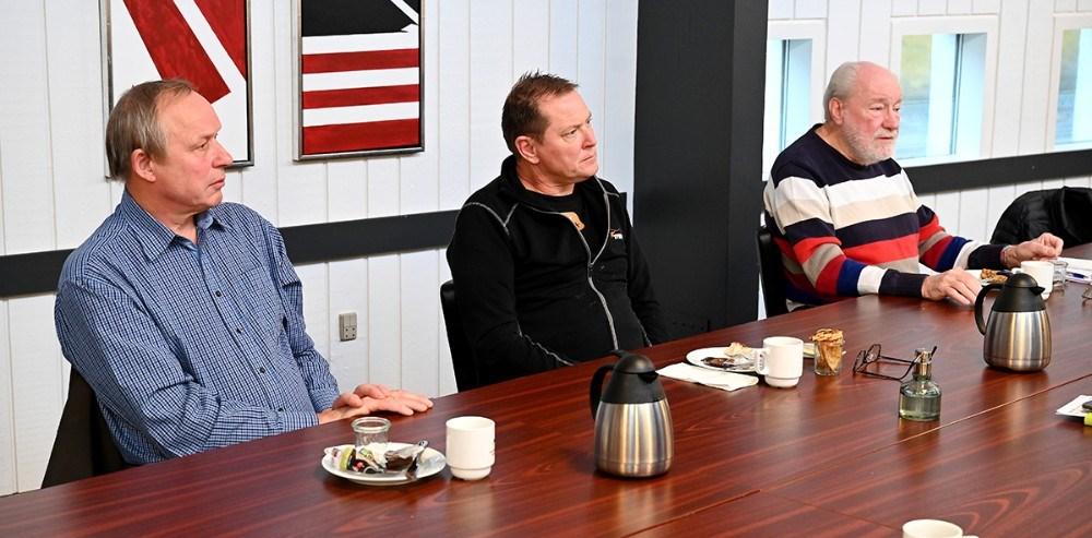 Niels Henrik B. Nielsen, Lykkebjerg, Søren Bang Knudsen, SBK Event og Richard Poulsen, Juvi Klubben. Foto: Jens Nielsen