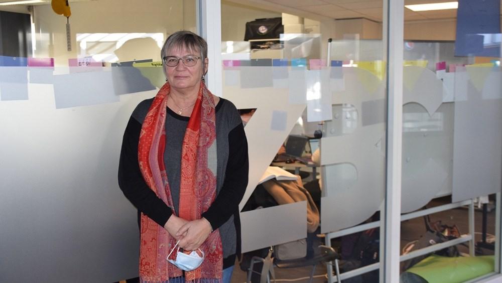 uddannelseschef  ved ZBC, Susanne Marstal. Foto: Gitte Korsgaard.