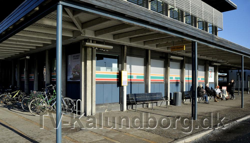 7-Eleven på Kalundborg Station lukker 31-12. Foto: Jens Nielsen