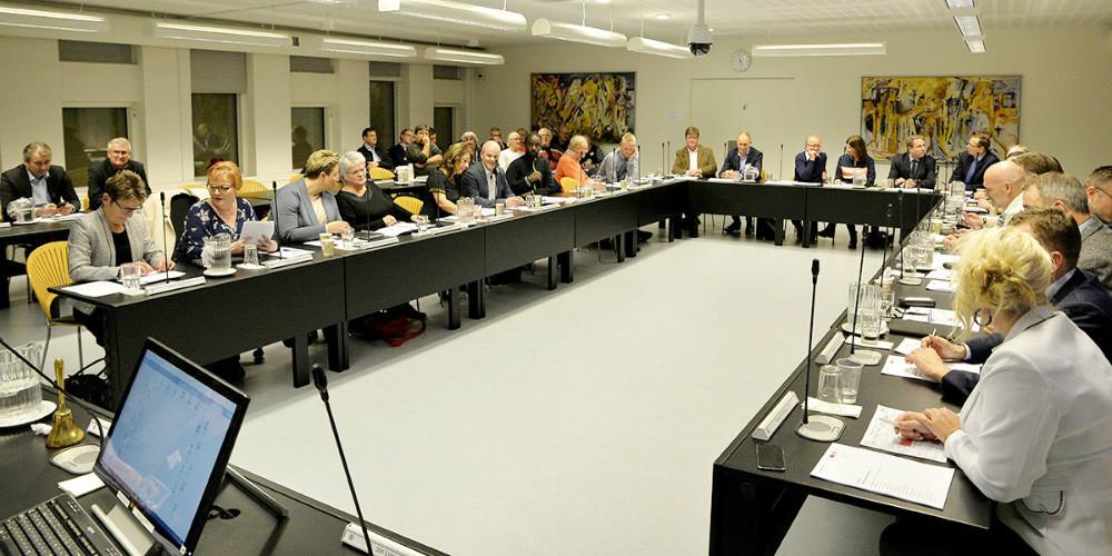 Den nye kommunalbestyrelse som tiltræder 1. januar. Foto: Jens Nielsen