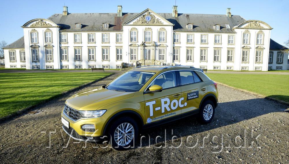 Der er Danmarkspremiere på den nye T-Roc i den kommende weekend. Foto: Jens Nielsen