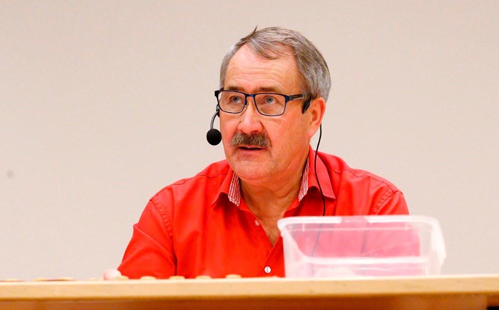 Niels-Erik Sørensen, formand for H.F. Vestsjællands Venner. Foto: Jens Nielsen