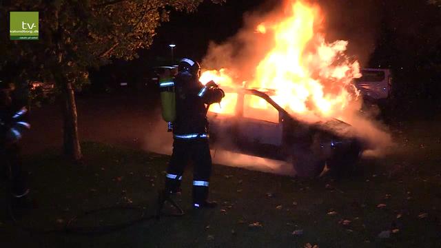 Der har været mange tilfælde af hærværk og bilafbrændinger i den nordlioge del af Klosterparkvej. Arkivfoto: Jens Nielsen