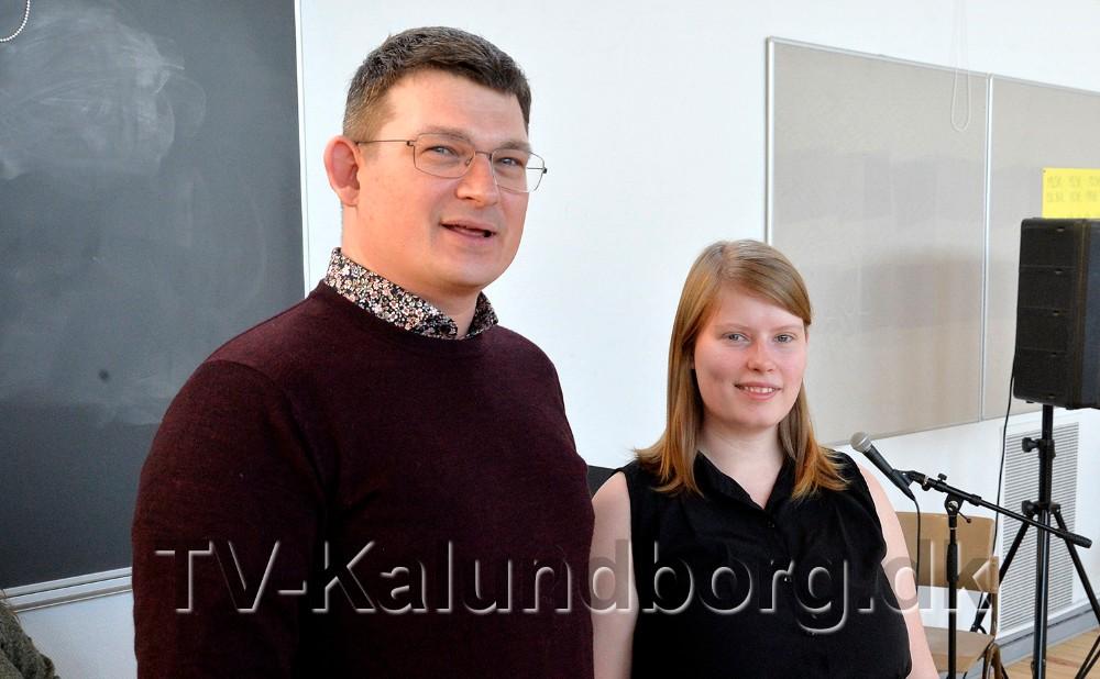 Klaus Ødegaard, som sammen med Nanna Holm Hemmingsen er instruktør på stykket. Foto: Jens Nielsen