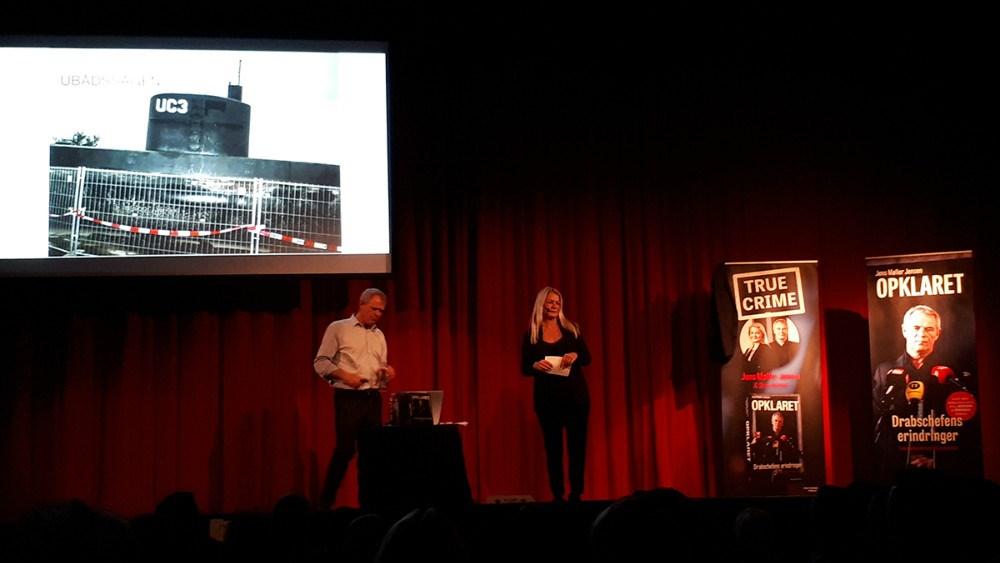 Der blev talt meget om Ubådssagen tirsdag aften i Kino Den Blå Engel.