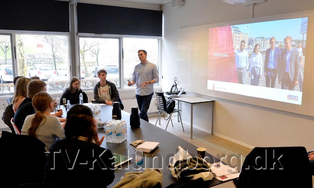 Kenneth Hvilsted Olsen fortalte om sine erfaringer som trainee. Foto: Jens Nielsen