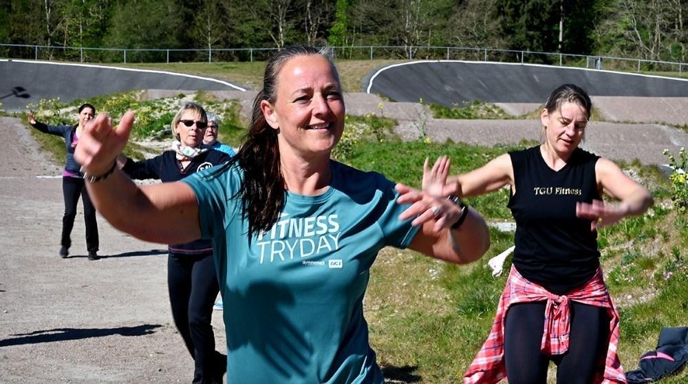 Sussi Lodall har tabt 33 kg og kan nu også kalde sig Zumba instruktør. Foto: Jens Nielsen