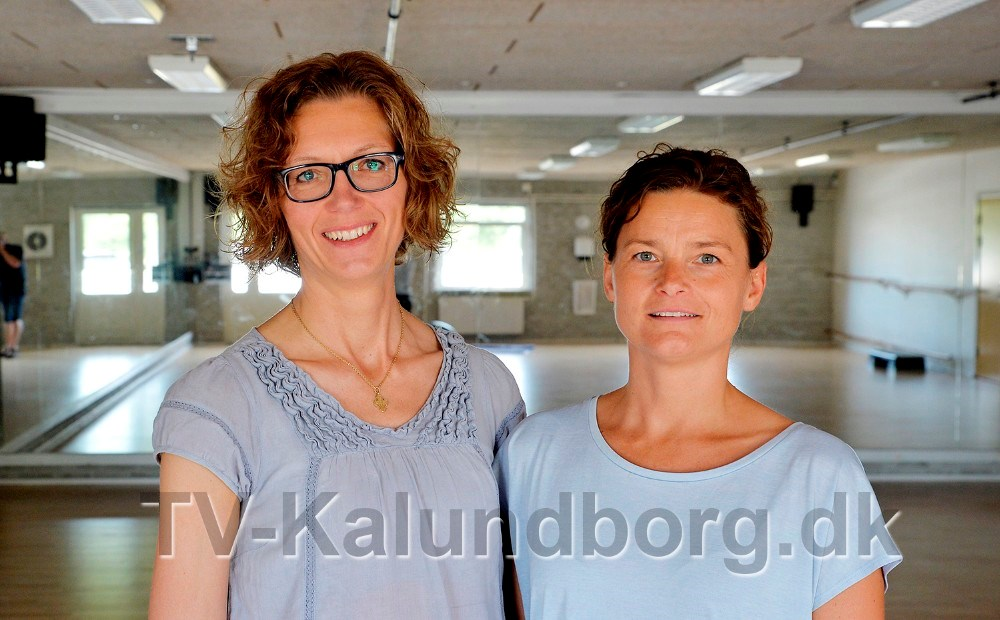 Susan Holm Walentin og fysioterapeut Pernille Skovsgaard. Foto: Jens Nielsen