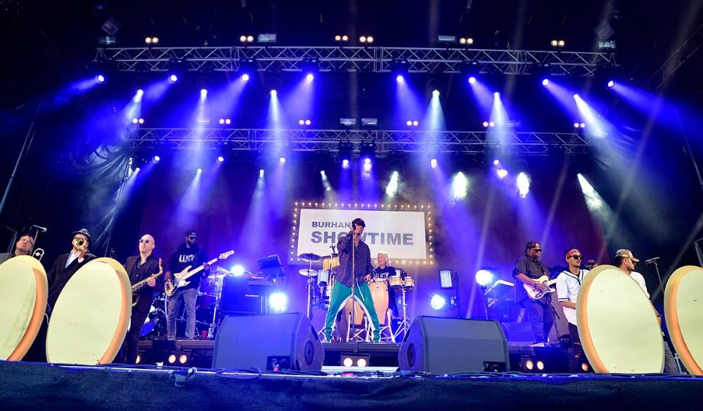 Burhan G optræder til jubilæumskoncerten på lørdag.Foto: Jens Nielsen