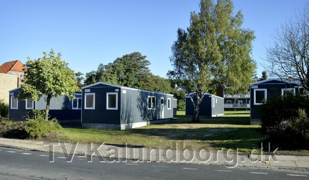 Midlertidige studieboliger er klar på Lundevej i Kalundborg. Foto: Jens Niesen