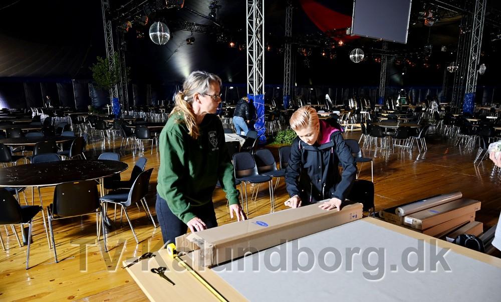 Kalundborg Hockeyklub er blandt de foreninger som har stillet med mandskab. Foto: Jens Nielsen