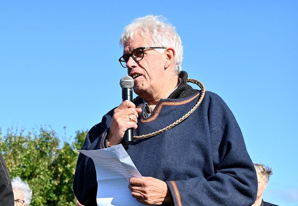 Formand for Tissø Vikingemarked Flemming Larsen. Foto: Jens Nielsen