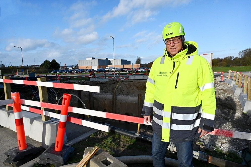Projektleder Torben Nielsen, Kalundborg Forsyning. Foto: Jens Nielsen