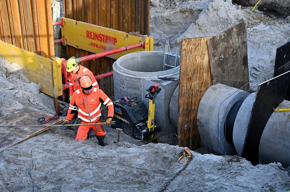 Det er et stort projekt Kalundborg Forsyning er i gang med. Foto: Jens Nielsen