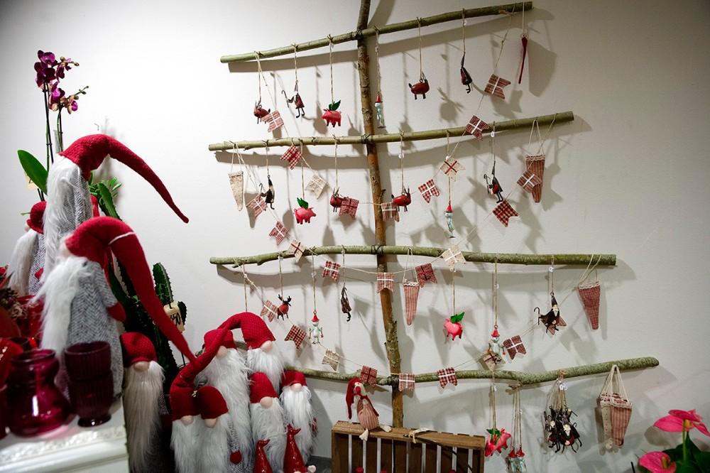 Et lidt anderledes juletræ. Foto: Jens Nielsen