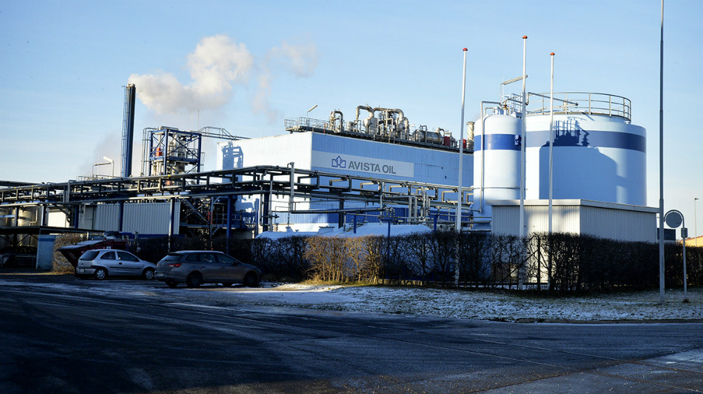 Avista Oil på Kalundborg Havn. Foto: Jens Nielsen