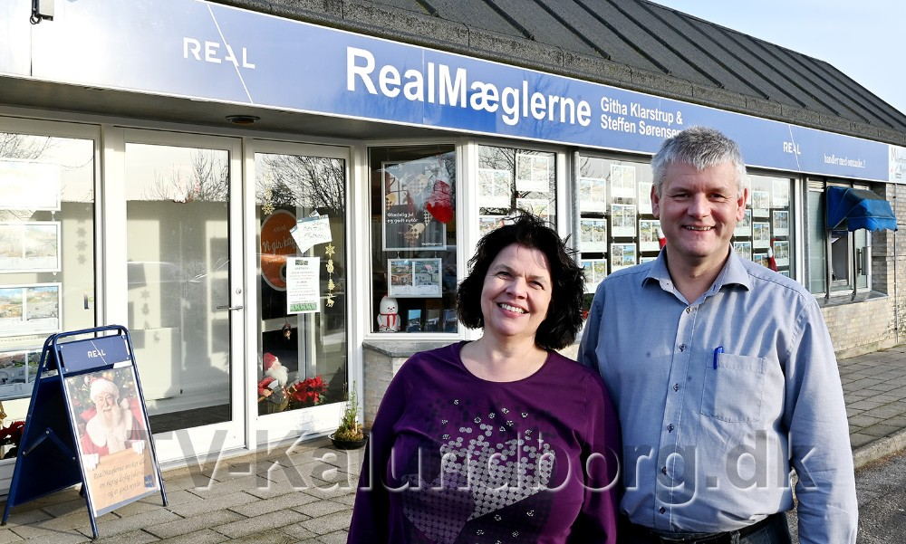 Realmæglerne Githa Klarstrup og Steffen Sørensen. Foto: Jens Nielsen