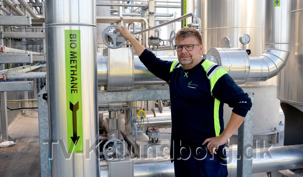 Erik Lundsgaard, der er driftschef hos Kalundborg Bioenergi. Foto: Jens Nielsen