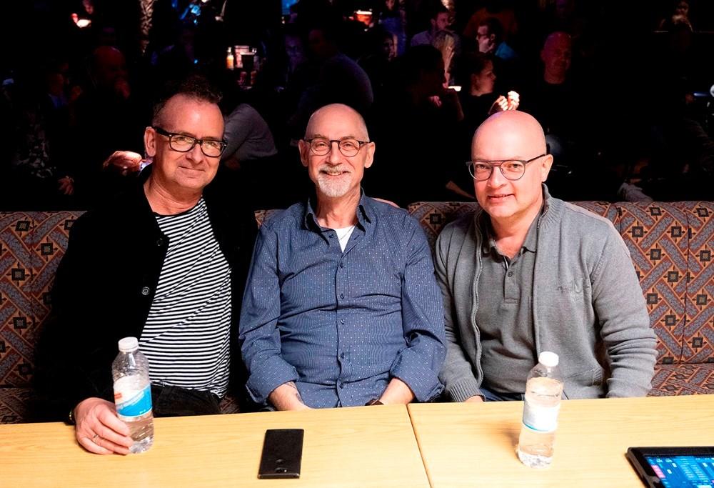 De tre dommere, Claus Topp, Eddie Brunholt og Steen Fafner, kom på en hård opgave. Foto: Jens Nielsen