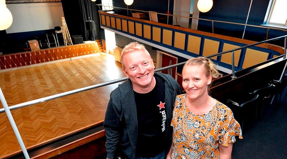 Trine og Morten Nystrup. Foto: Jens Nielsen