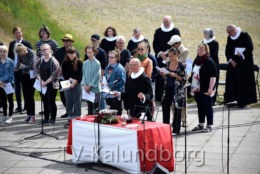 Igen i år er der friluftsgudstjeneste på Amfi Vestsjælland i Bregninge. Arkivfoto: Jens Nielsen
