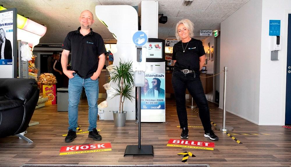 Brian Sønder Andersen og Annette Sønder Nielsen. Foto: Jens Nielsen